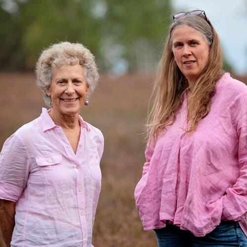 Sandrina Weller und Susan Cook
